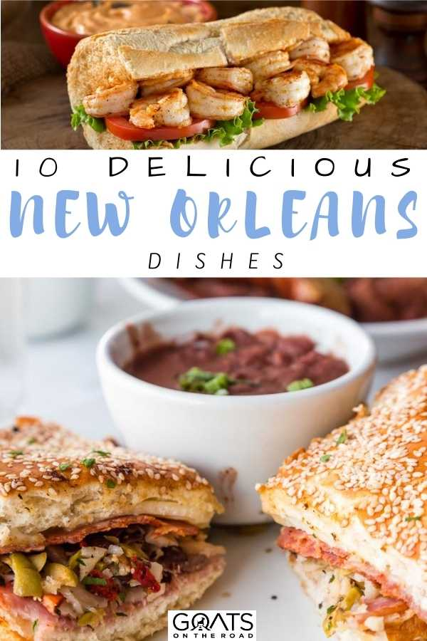 """""""10 Delicious New Orleans Dishes"""