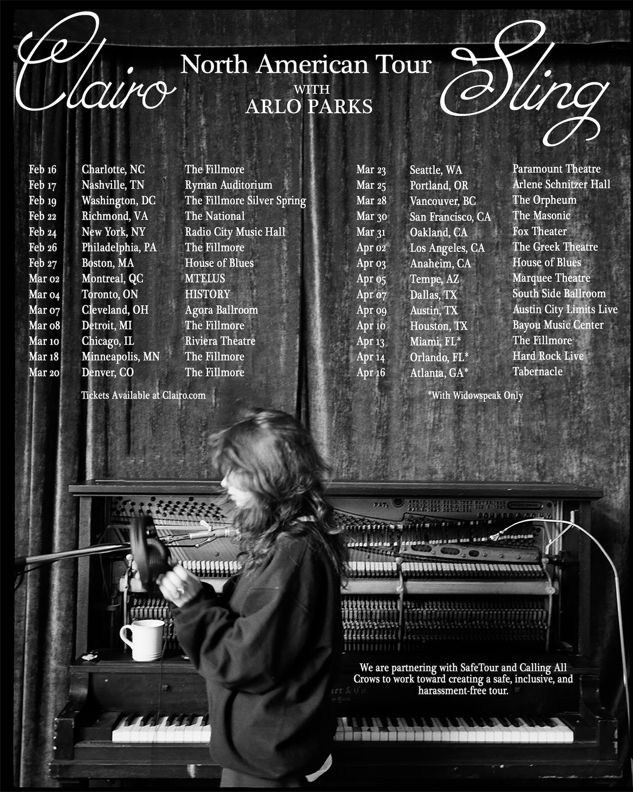 Clairo: North American Tour With Arlo Parks