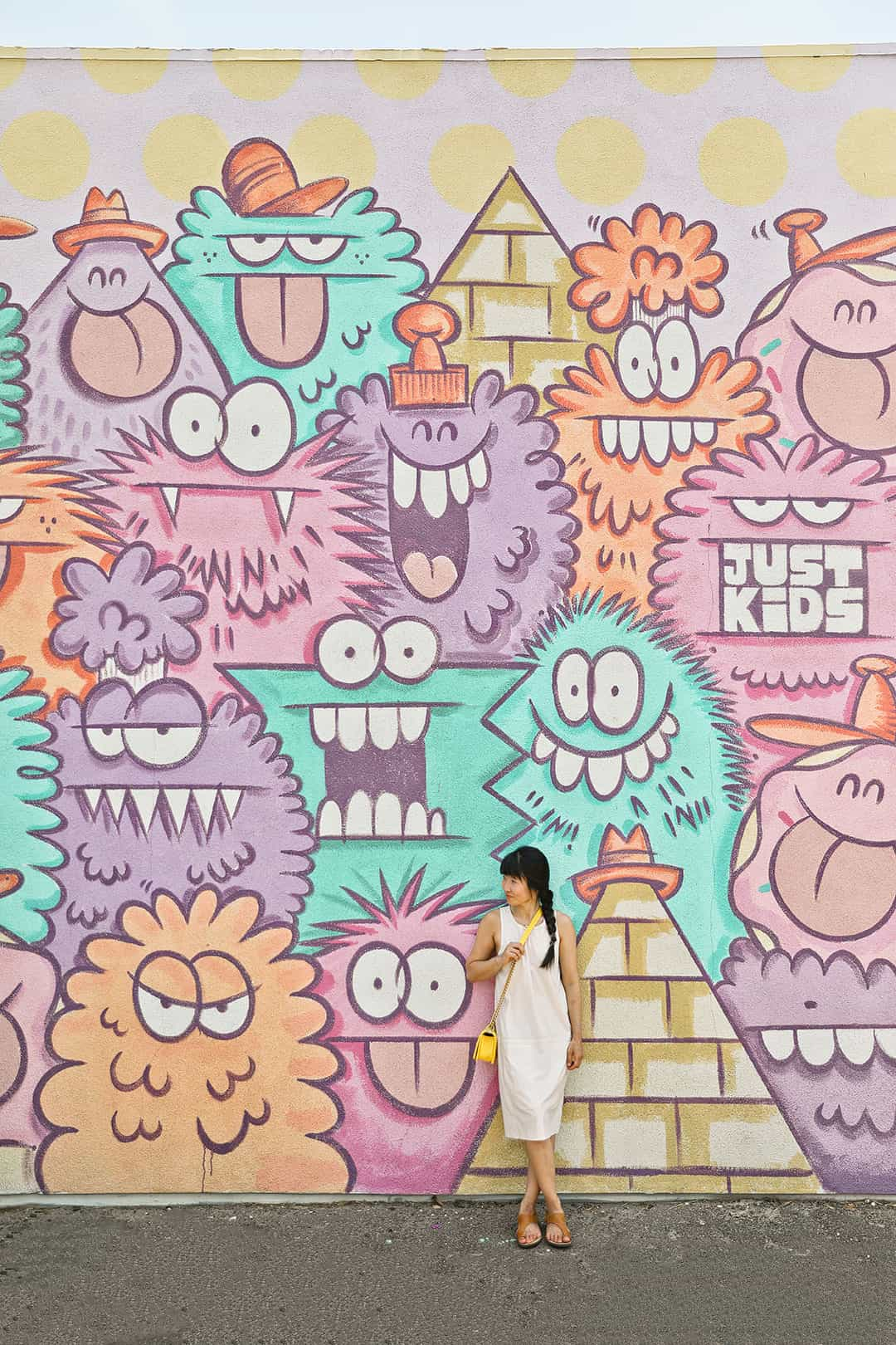 Gather House Monster Mural Kevin Lyons part of Fergusons Downtown