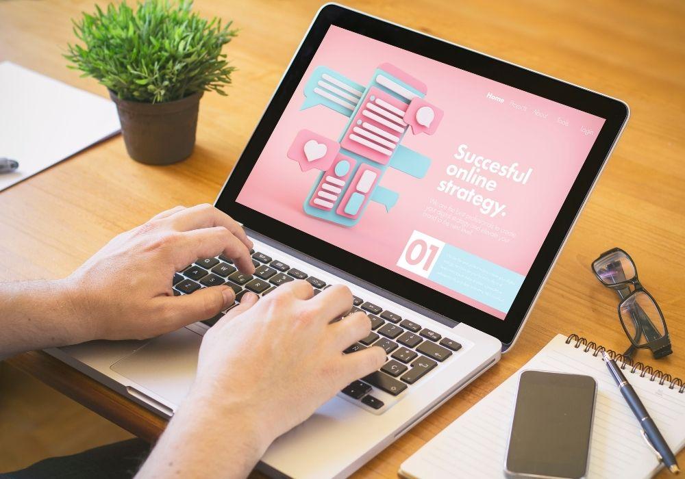 digital marketing website