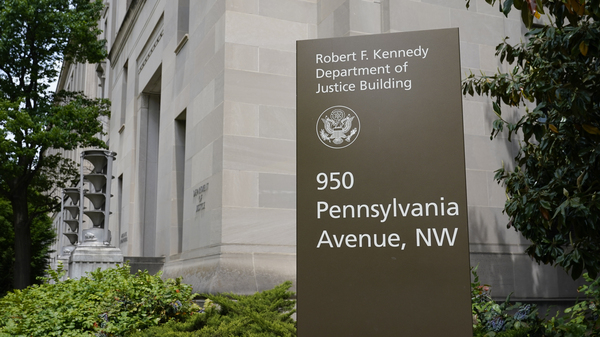 The Justice Department said 27 U.S. Attorney offices had at least one employee