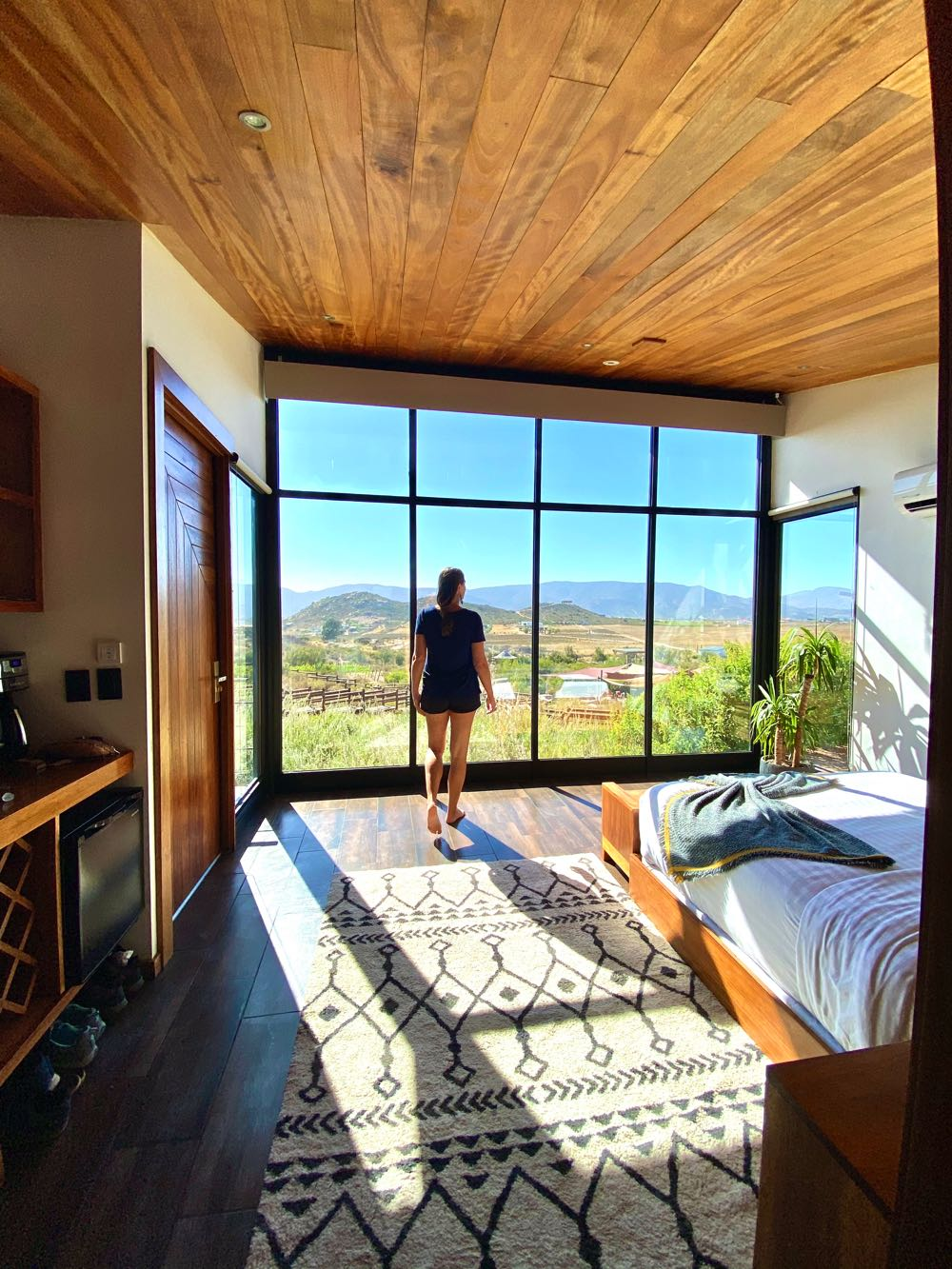 where to stay in the valle de guadalupe