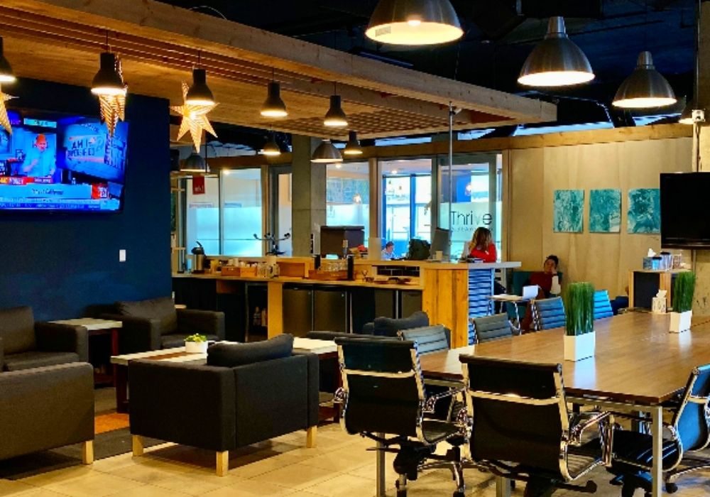 thrive coworking space in Denver