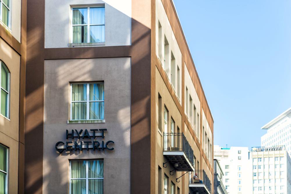 hyatt centric bourbon street hotels