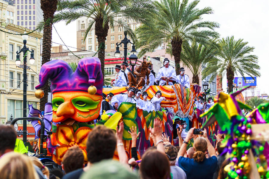 mardi gras festival in new orleans
