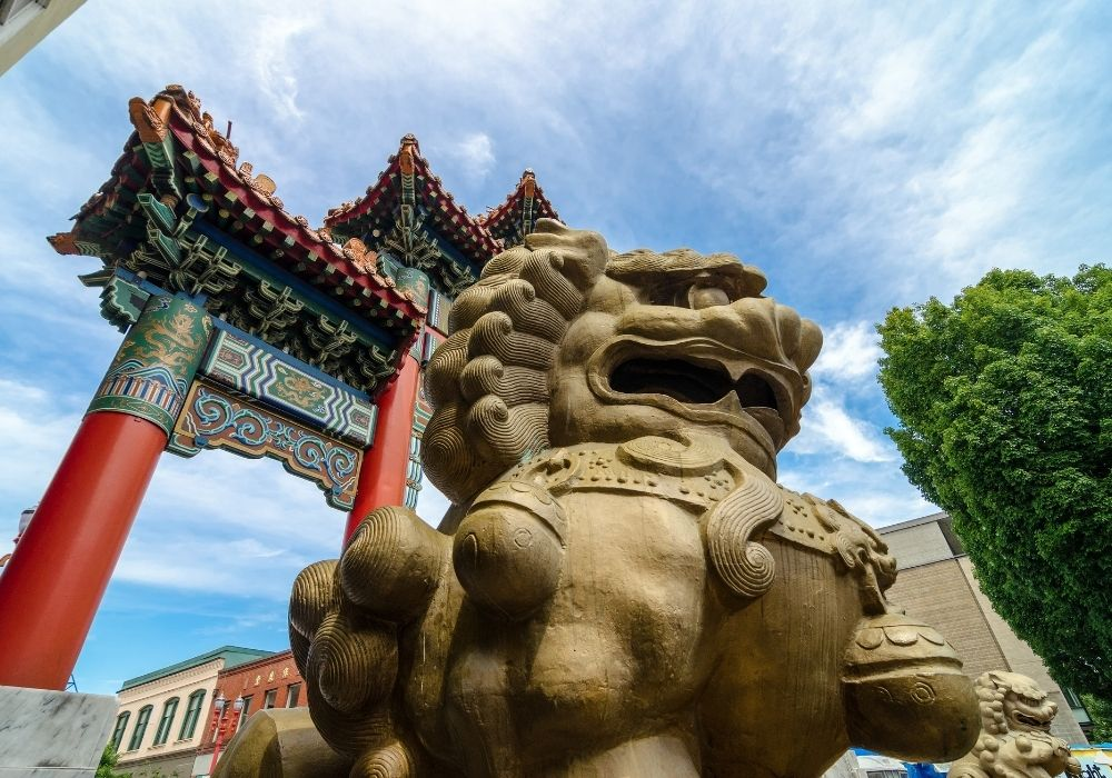 what to do in portland visit chinatown