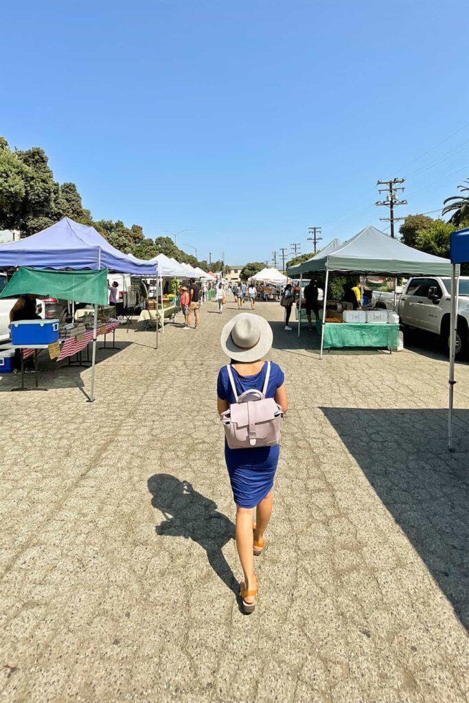 santa monica farmers market saturday