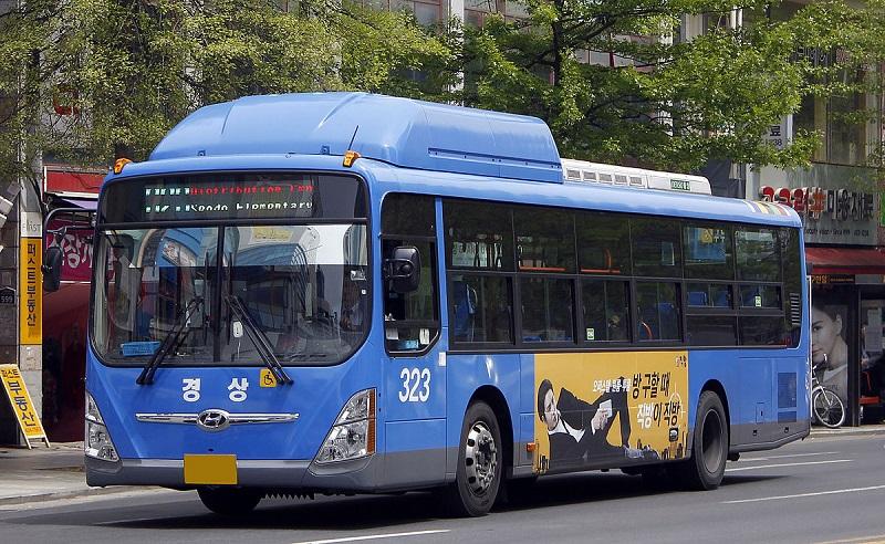 Xe bus tại Hàn Quốc