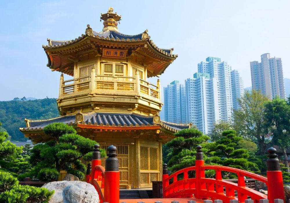 hong kong modern and historic