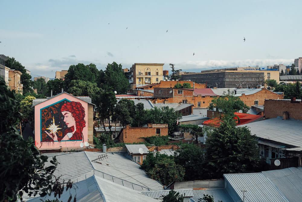 living in tbilisi georgia Chugureti area