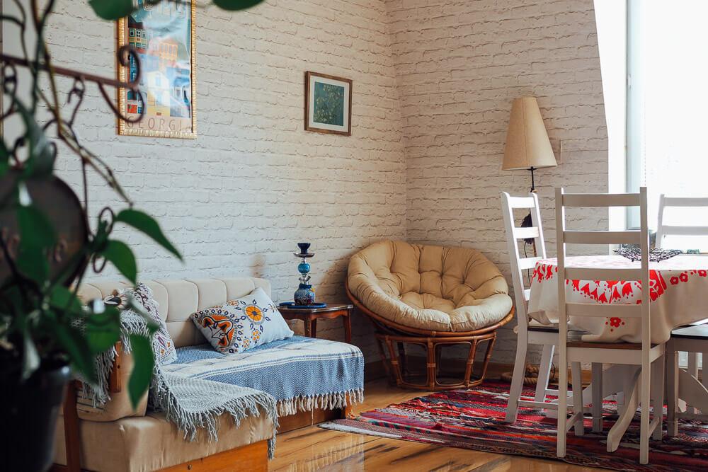 living in tbilisi georgia saburtalo apartment