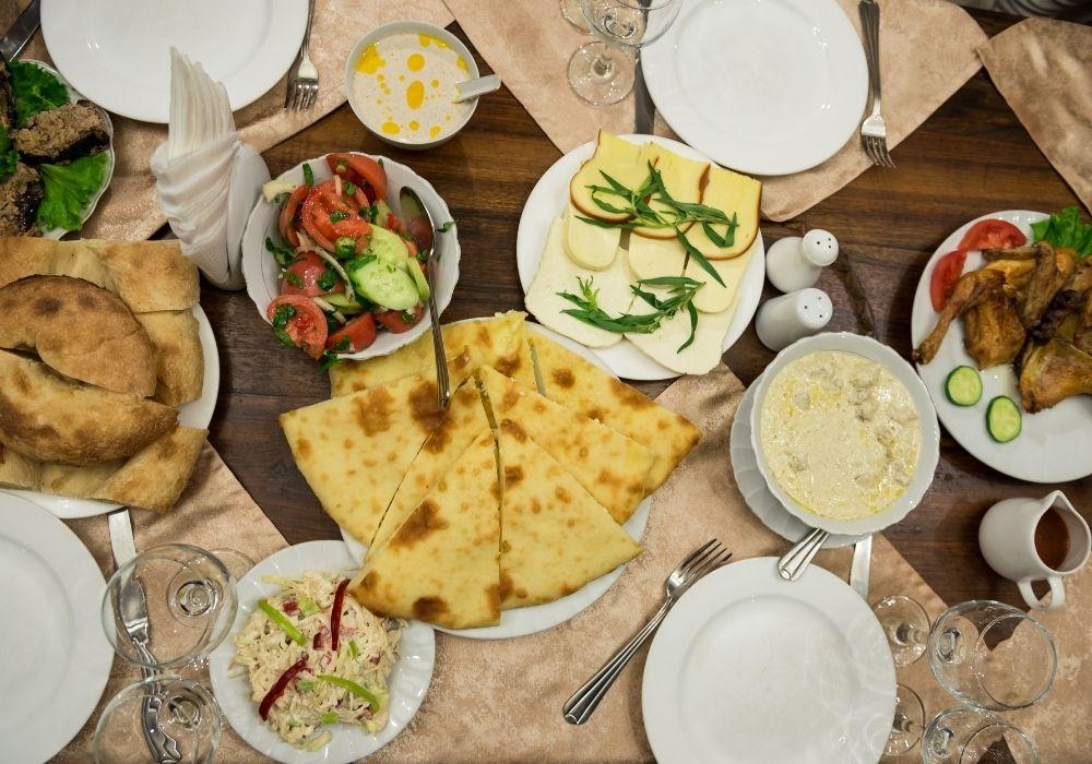 food in tbilisi georgia