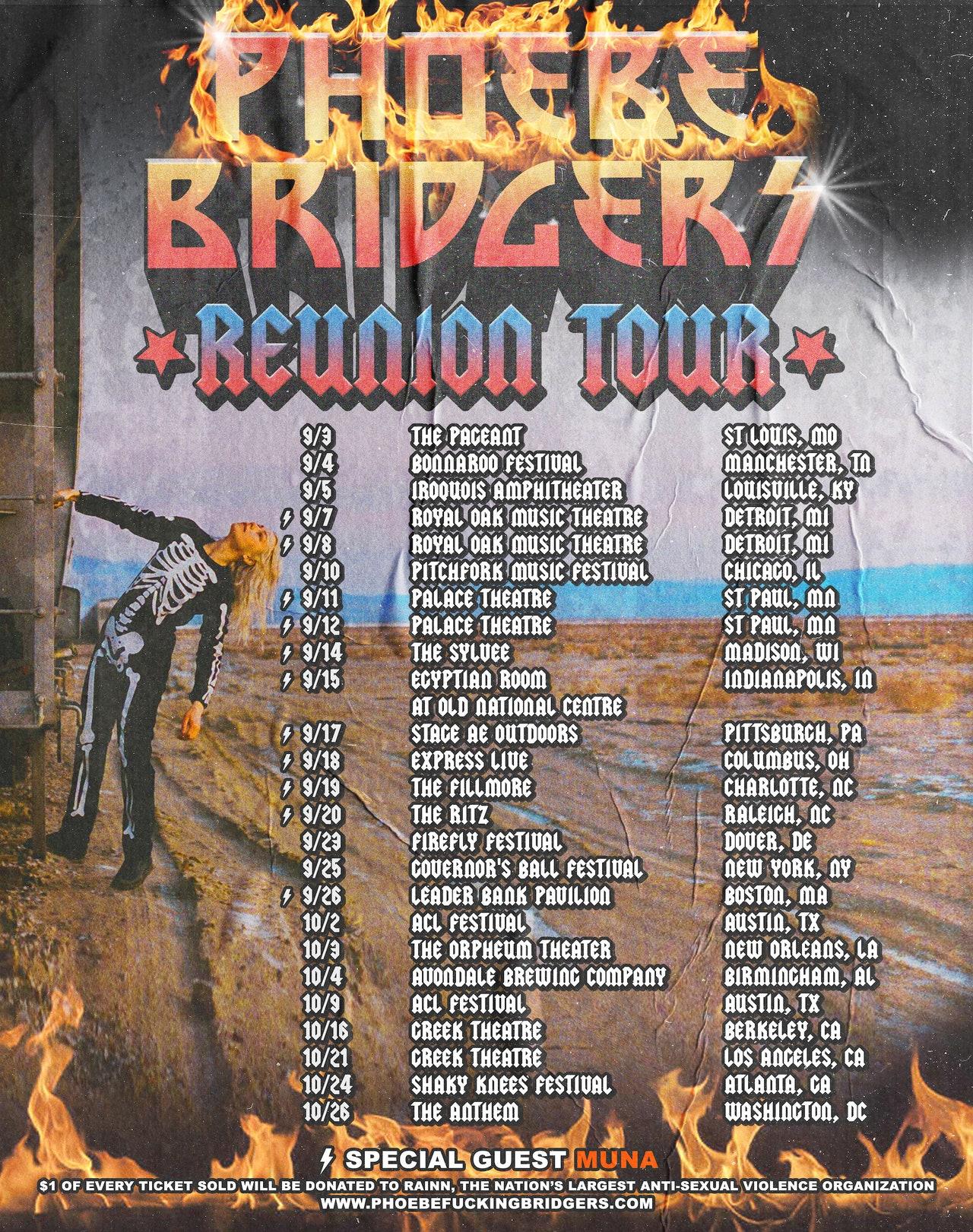 Phoebe Bridgers Reunion Tour