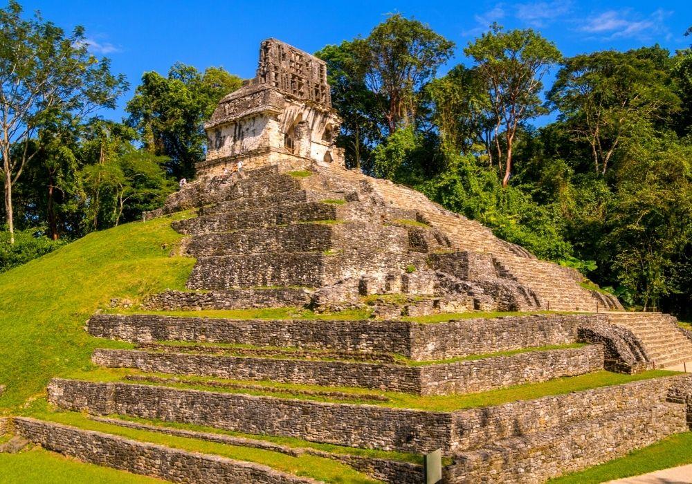 visiting Palenque ruins