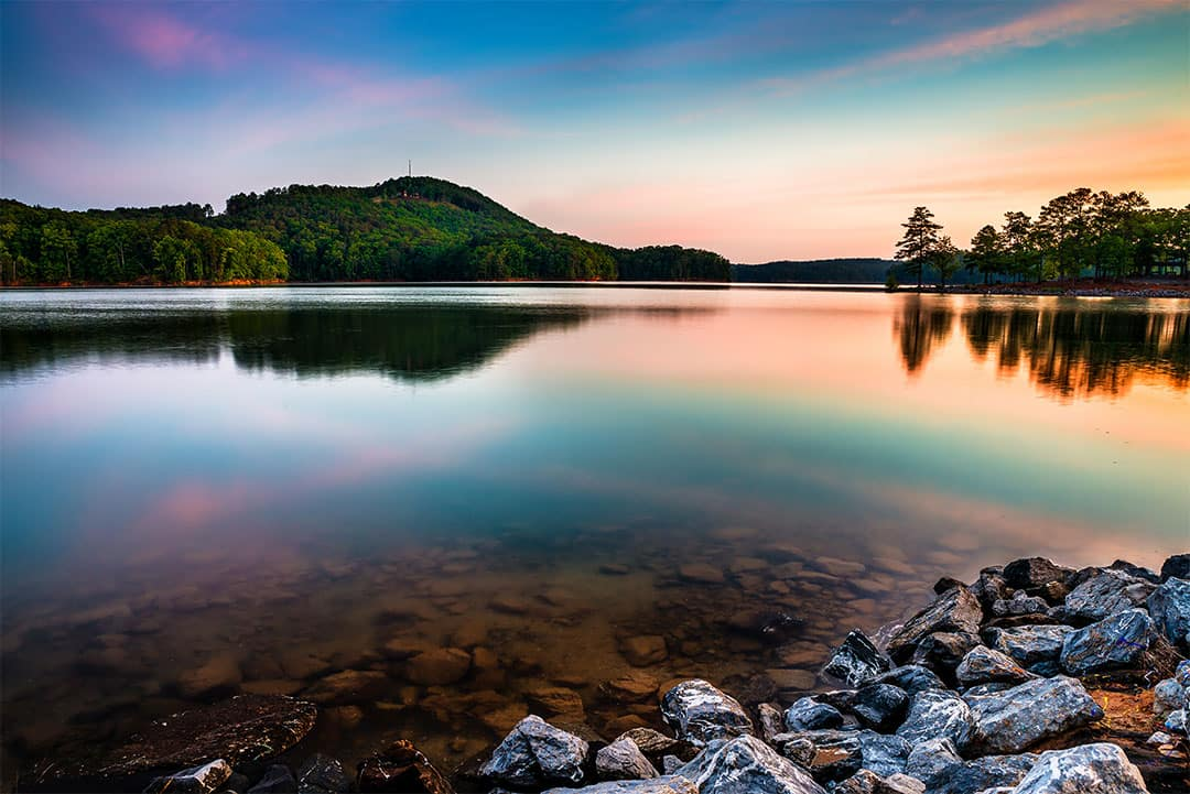 red top mountain state park and lake allatoona camping