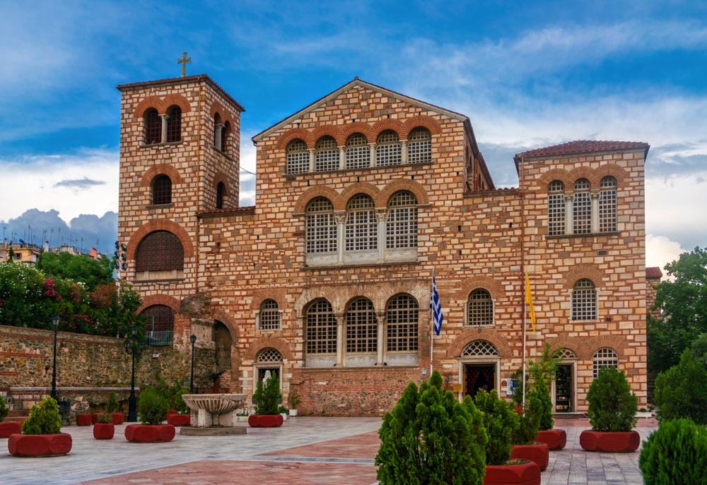 agios dimitrios church thessaloniki