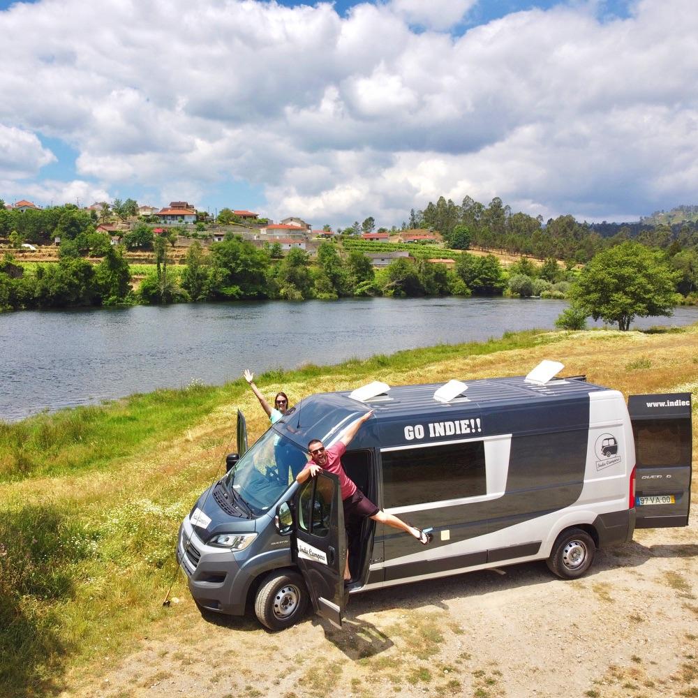 campervan life in portugal