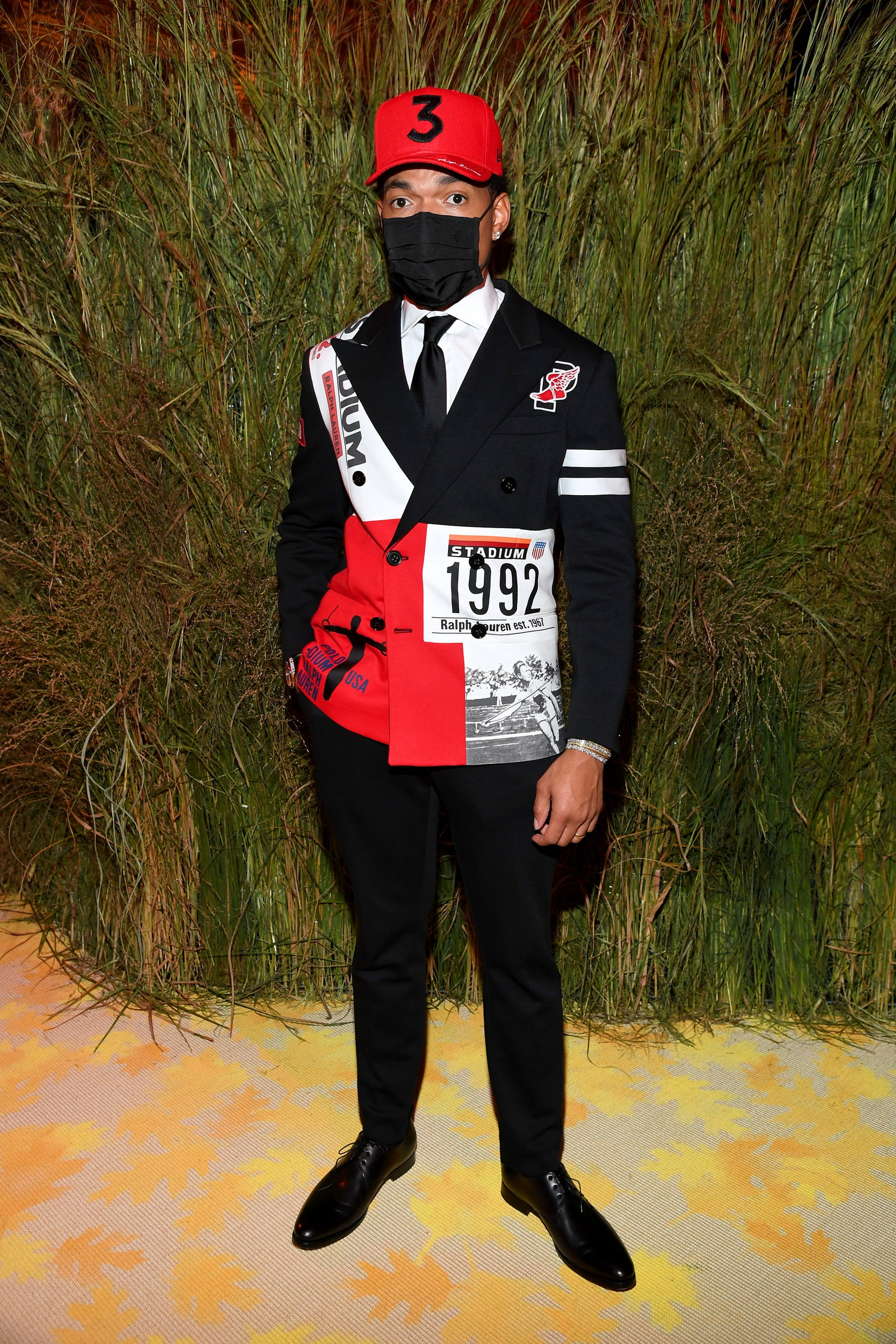 NEW YORK NEW YORK SEPTEMBER 13 Chance the Rapper attends the The 2021 Met Gala Celebrating In America A Lexicon Of...