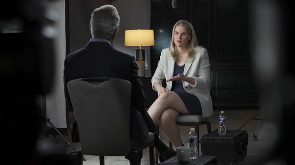 Facebook whistleblower Frances Haugen talks with CBS